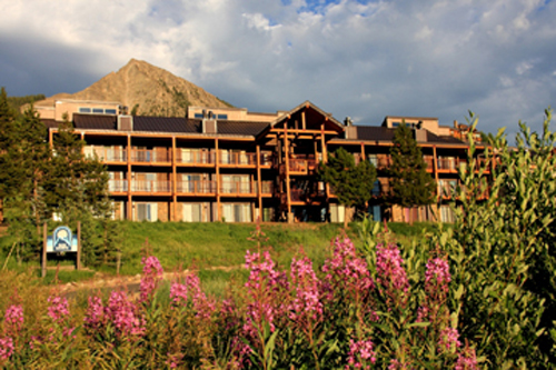 San Moritz in summer in Crested Butte, Colorado