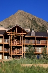 San Moritz in Crested Butte with Mt. Crested Butte