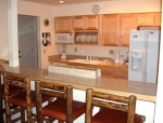 kitchen of 4 bedroom condo in mt crested butte colorado