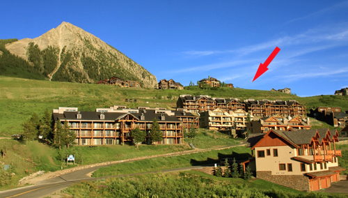right on the slopes in Crested Butte colorado - 4 bedroom condo for rent