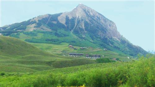 gorgeous mount crested butte in summer with 4 bedroom condo