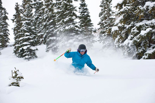 powder skiing in Crested Butte Colorado
